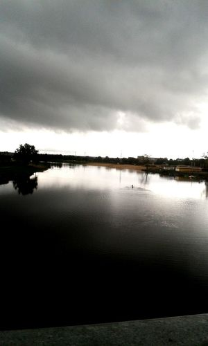 before rain Unfotoshop Storm Clouds River Capture The Moment Kayaking