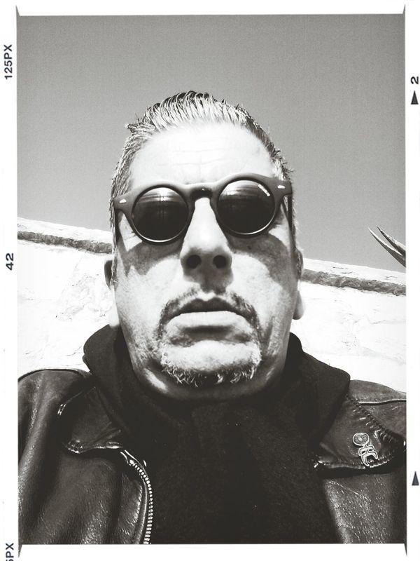 I photogragh, therefore I am Blackandwhite Self Portrait