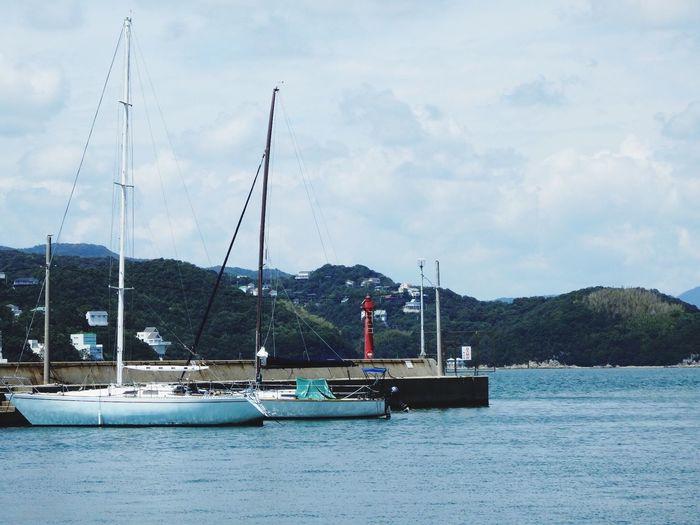 Japan Kashirajima 頭島 Summer Summerdays  Sea Ship Sea And Sky EyeEm Nature Lover