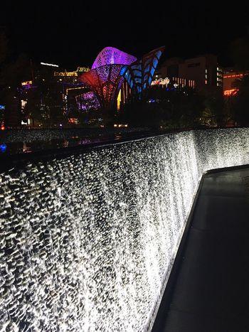 Favorite spot in Las Vegas The Park Newyorknewyorkhotel Fountain