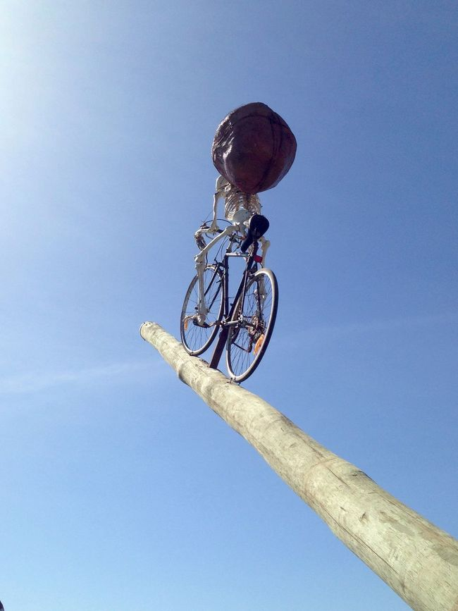 Skeleton biking to the sky: Sculpture by the Sea Cottesloe Beach-circa 2014 Western Australia Weekend Activities Vacations Sculptures By The Sea Sculpture Recreational Pursuit Pole Outdoors Expressive Sculpture Cottesloe Beach Clear Sky Built Structure Art Event Art Abstract Skeleton Skeleton Sculpture Skeleton Art Skeleton On Bike Skeleton Abstract Abstract Art Bike On Pole Bike Sculpture Log Log In Sky