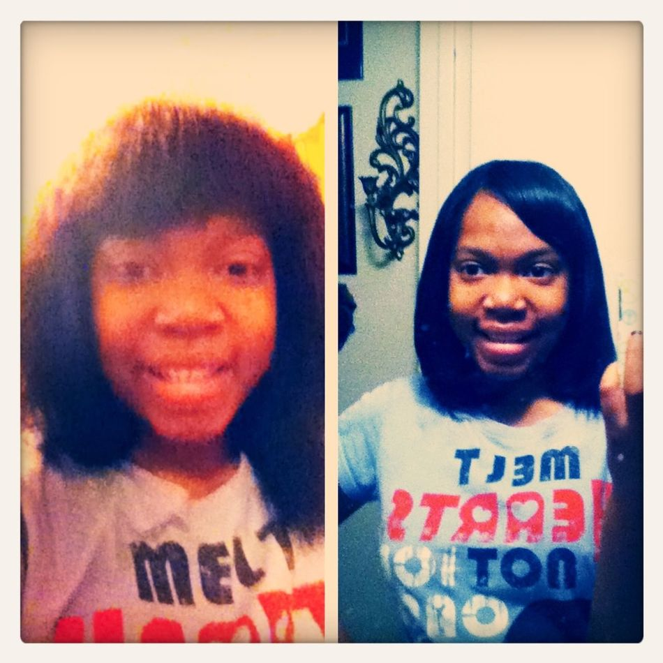 Before & After Finally Finish
