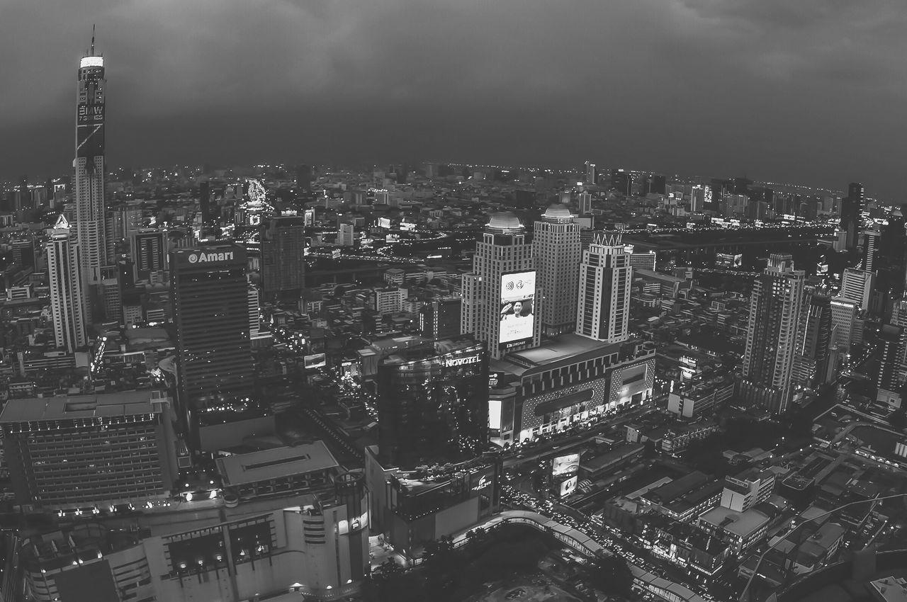 Architecture City Cityscape Nightphotography Bangkok Thailand. Bangkok Thailand ASIA