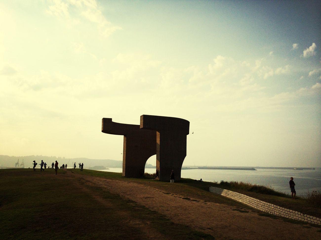 Eduardo Chillida , Elogio del Horizonte,, Asturias Taking Photos Hello World Gijón