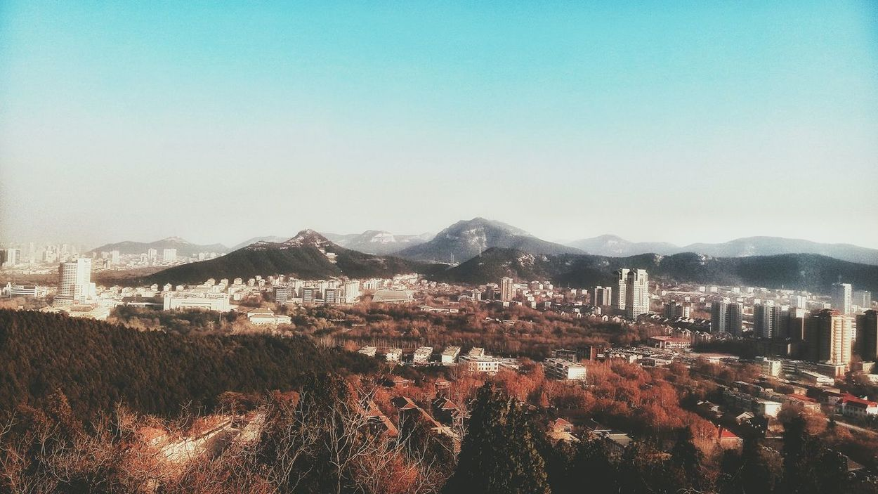 Climbing A Mountain Walking Around And Taking Pictures On The Top Of The Mountain Clear Sky Outdoors No People Smartphonephotography Walking Around The City  Original Experiences Focused ❤ Leaves 🍁 EyeEm Nature Lover Beauty In Nature
