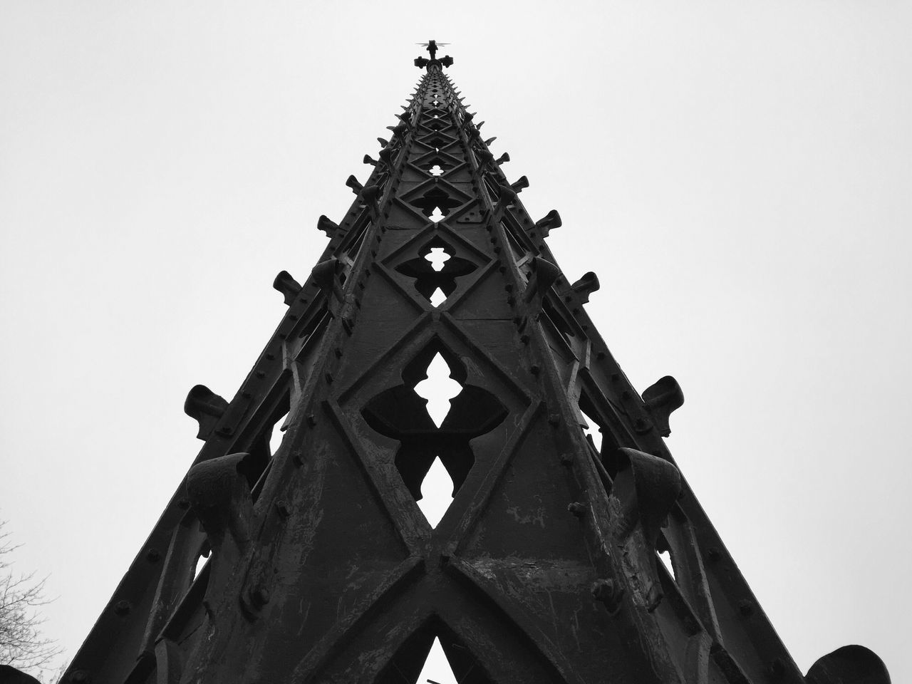 Low Angle View Clear Sky Built Structure Architecture Building Exterior Day Spirituality Religion Outdoors No People Place Of Worship Sculpture Sky Minimalism EyeEm Team Minimalist Minimalism_bw EyeEm Bnw EyeEm Shadows EyeEm Best Shots Building Story Streetphoto_bw