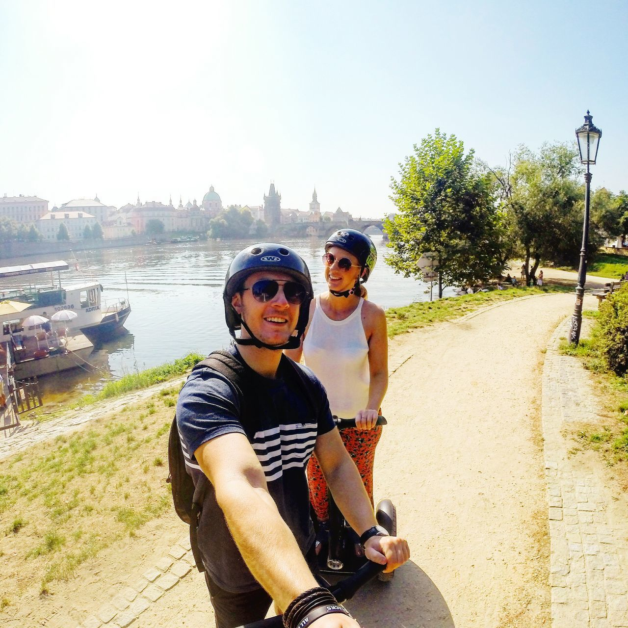 Photographer Better Look Twice From My Point Of View Life Through A Lens Adventure Buddies Taking Photos The Tourist Taking Pictures Panoramic View Panoramic Photography Prague Segway Segway Ride Gopro Sunshine Sunset_collection Sunshine Day Prague Czech Republic Czech Republic Traveling Travel Photography Having Fun Learn & Shoot: Working To A Brief My Year My View