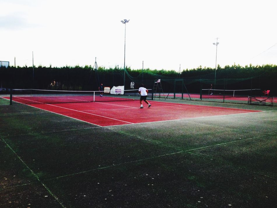 Watching Tennis Greenpark Gioia Del Colle