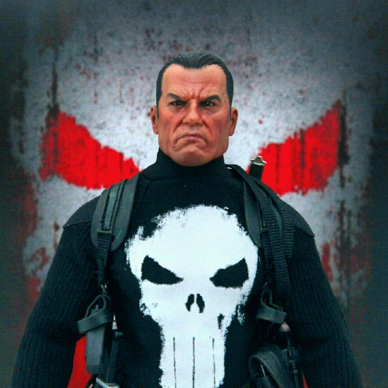 Onesixthscale Toyphotography Punisher Frankcastle Sideshowcollectibles Marvel