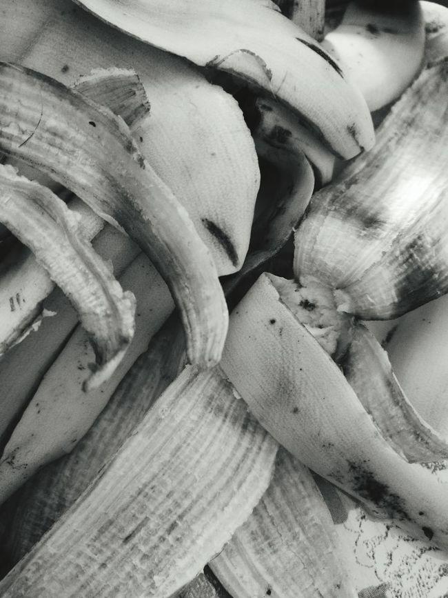 Hello World Taking Photos Pattern Pieces Fine Art Photography Monochrome Black And White Banana Banana Peel Abstract Photography Photography Colors Dubai❤ UAE Randomshot