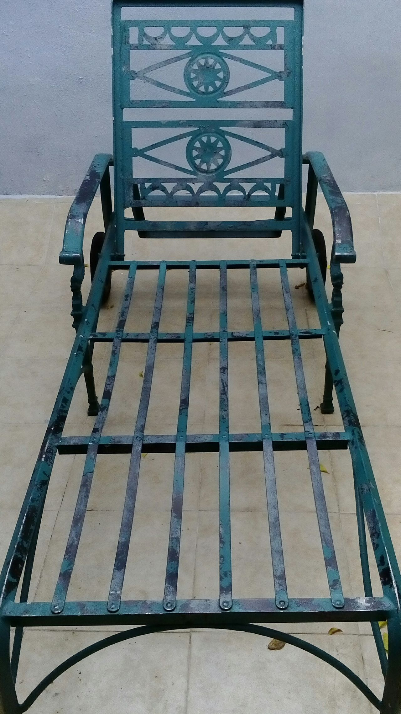 Iron - Metal Chair Handmade Sunchair