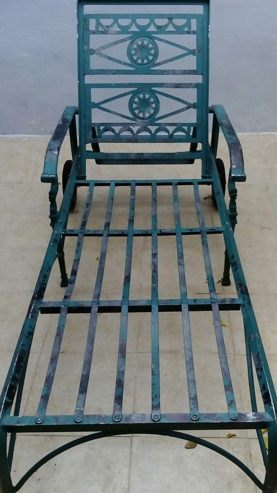 Iron - Metal Chair Handmade Sunchair