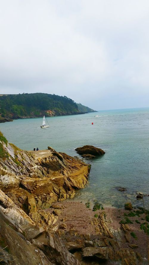 Nautical Vessel Water Sea Beach Boat Shore Tranquility Mode Of Transport Coastline Outdoors Tranquil Scene Dartmouth Tranquility Journey Historical Building Historical Monuments Hidden Gems  History Hiking Trail Hikingadventures Hidden Gems  Nature