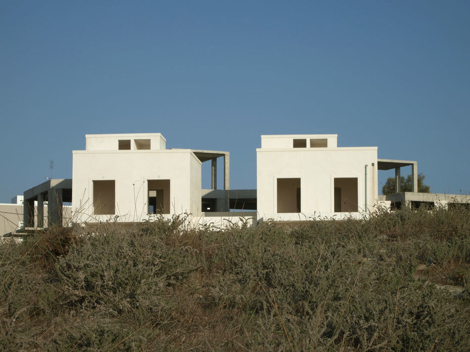 new holiday houses under constrution, Mastihari, Kos Island, Greece Architecture Building Building Exterior Built Structure Clear Sky Construction Construction Site Europe Greece Holiday House House Houses Island Kos Mastichari New New Housing Area No People Under Construction Unfinished