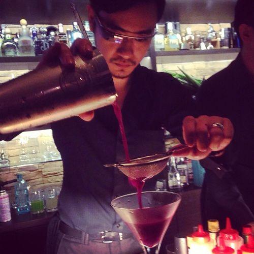 More than just a bartender - alcohol alchemy via google glass Cocktails GoogleGlass