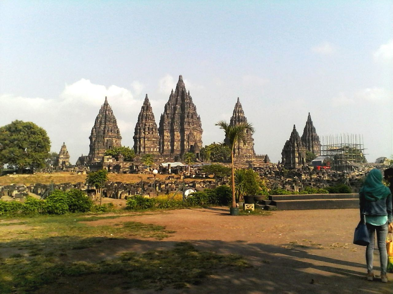 Travel Destinations Tourism Architecture Built Structure City Vacations Sky Outdoors Place Of Worship Indonesia Culture
