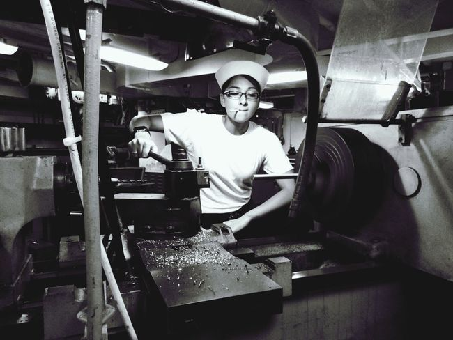 Machinist Repairman Navy Ship Badass Sailor Popeye First Eyeem Photo