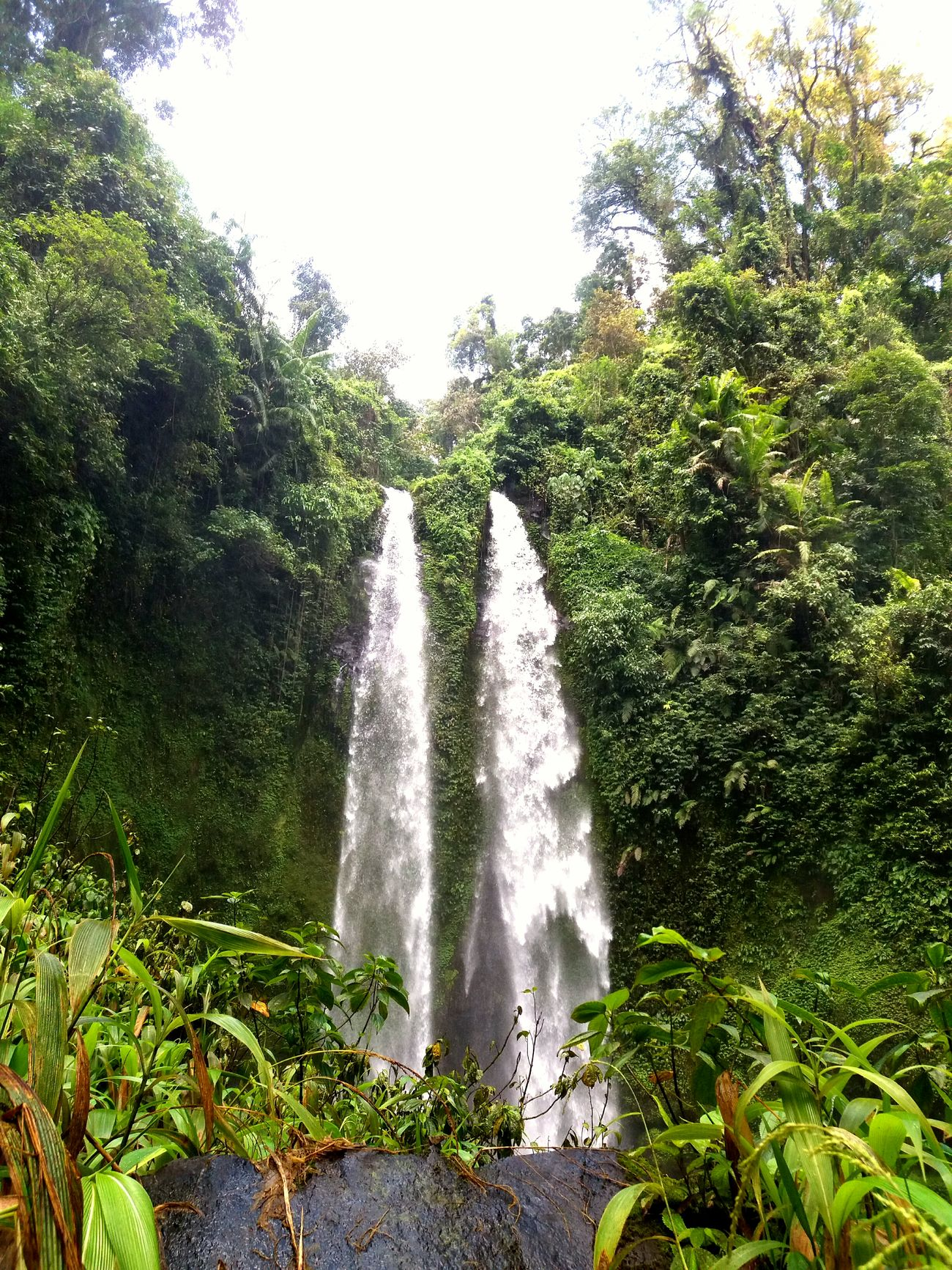 Twin waterfall