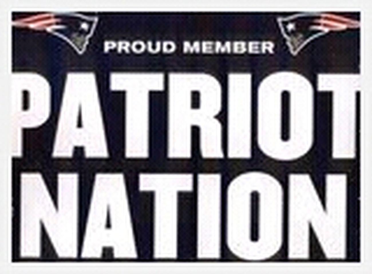 Patriots baby! lets go!!!