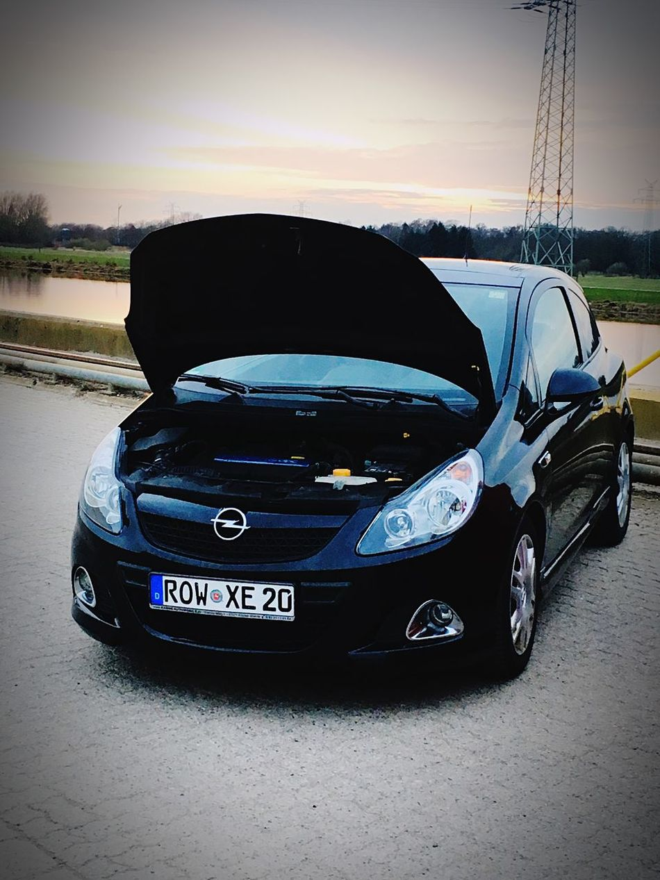 Car Transportation Old-fashioned Land Vehicle Outdoors No People Sky Day Opel Corsa D OPC