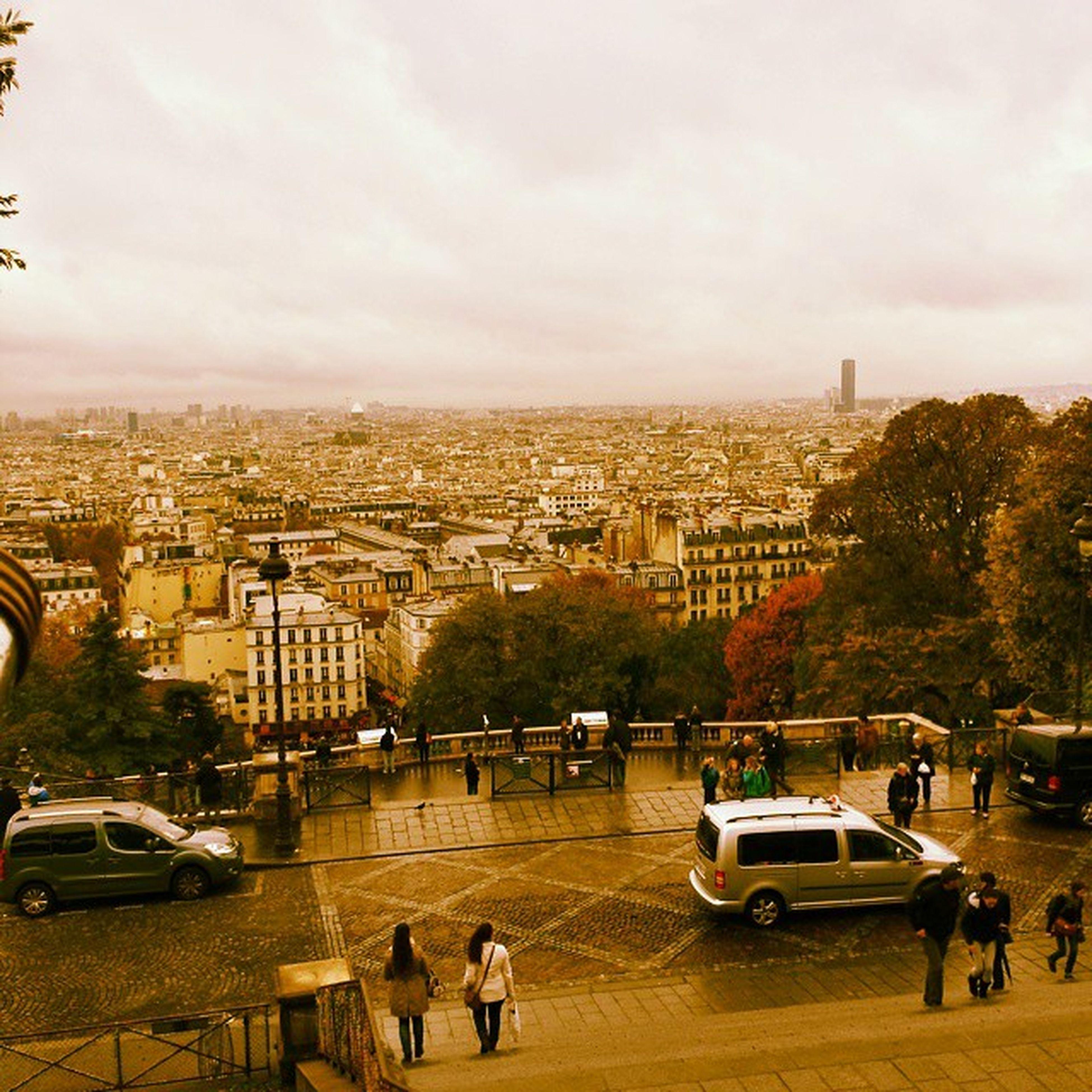Overview Paris from Sacré-Cœur Paris Montmantre Panorama City