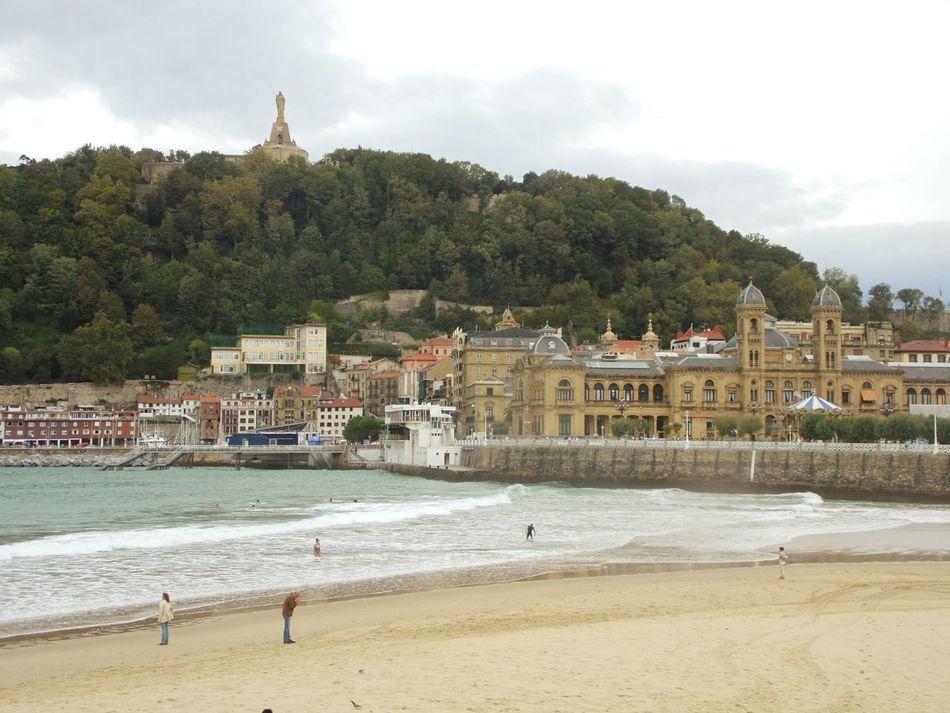 San Sebastian Beach Check This Out Waves Breaking
