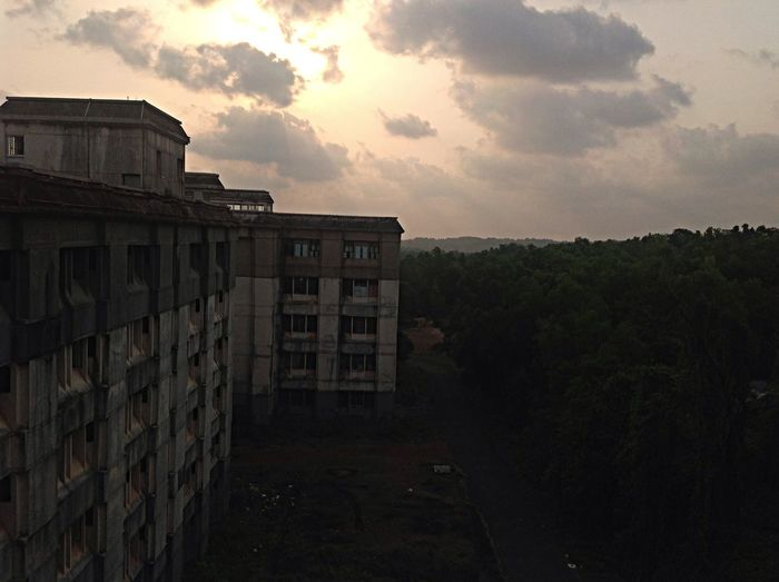 Another Sunset Pariyaram Medical College Hospital