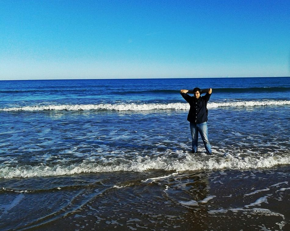 Beach Beachphotography Sea That's Me Waves Check This Out Enjoying Life City Hello World Showcase: November Cheese! Self Portait