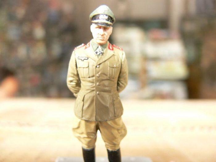 Desert Fox Rommel World War 2 Military Model