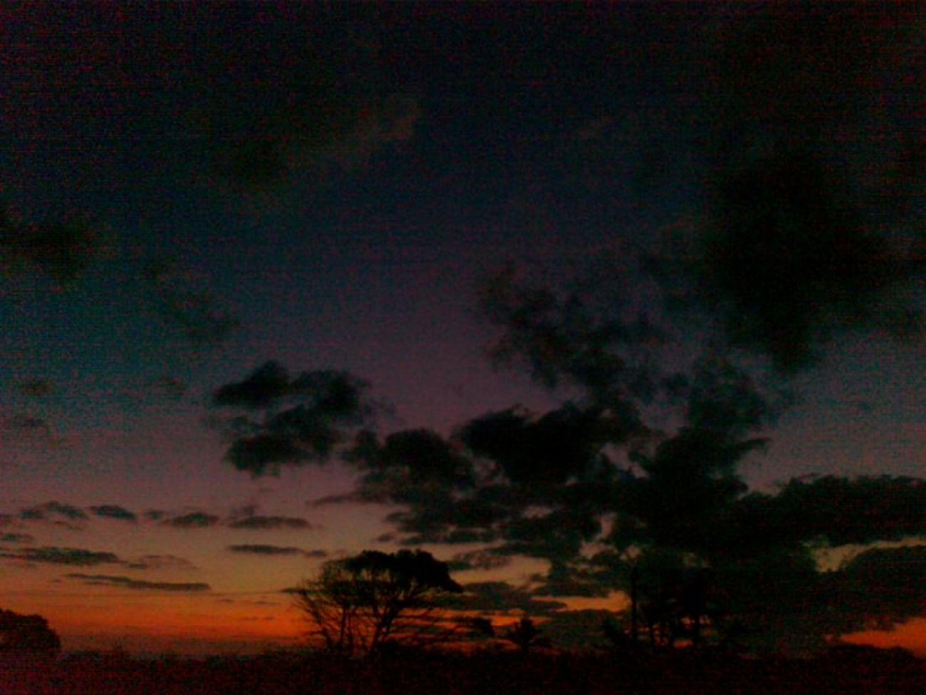 Morning Sky Twilight in AzzawyaLibya