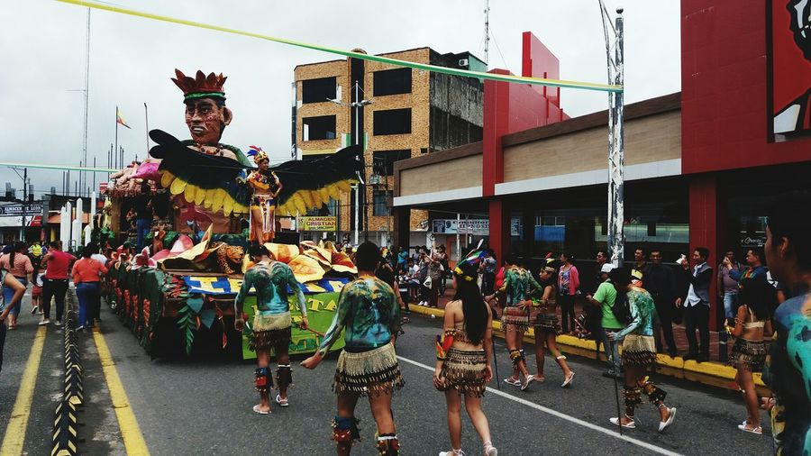 Carnaval 2016 Sucumbios