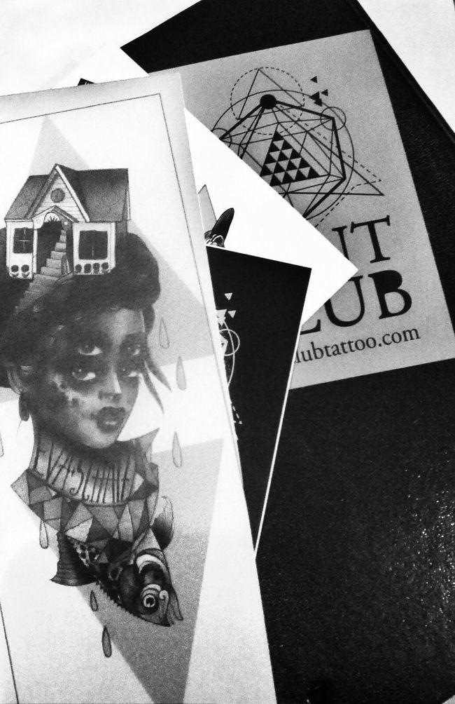 Black & White Notebook Mint Club