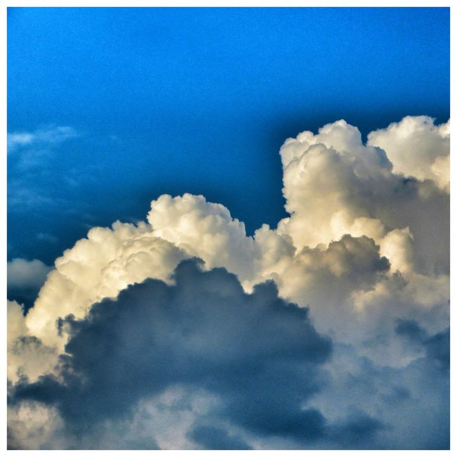 Clouds And Sky Blue Altura Cdmx Relaxing Texture Gallery