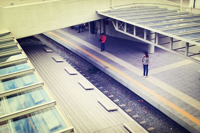 Waiting Train Station Thiseio