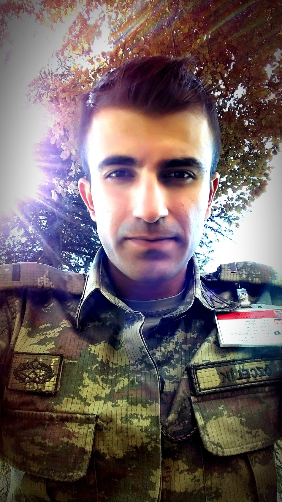 Turkey Military Men Army Komando Comender