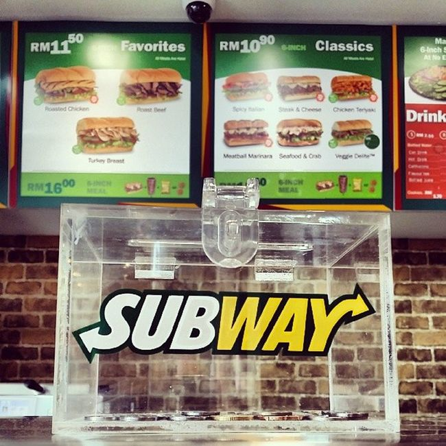Subway Steakandcheese Lunch