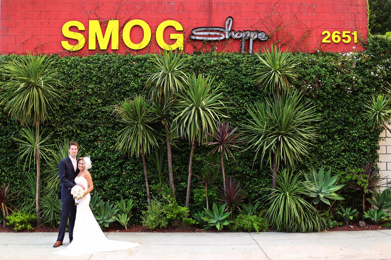 Love this LA smog shop wedding Lawedding Smoggshop Laphotography Ocphotographer Mccallandnikkiryanphotography Bride Wedding Photography Weddingphotography Wedding Day Weddingphotographer First Eyeem Photo
