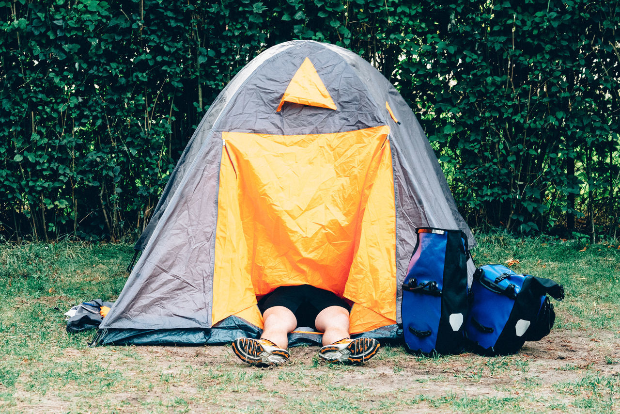 Beautiful stock photos of lifestyle, Backpack, Berlin, Camping, Campsite