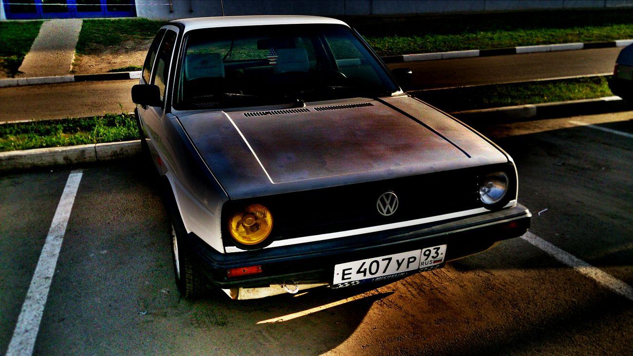 Volkswagen Golf Mk_2 VW Golf Mk2