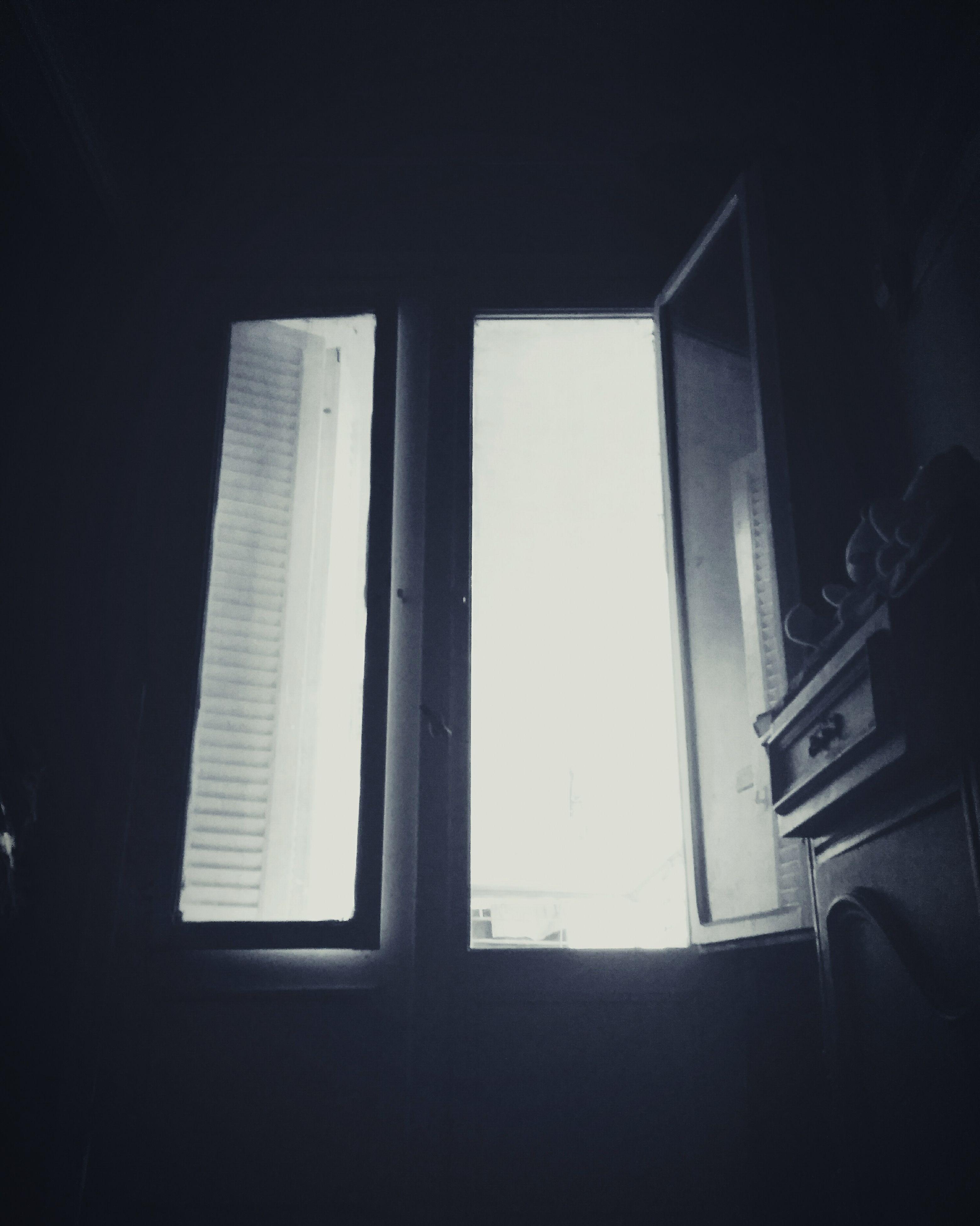 window, indoors, dark, darkroom