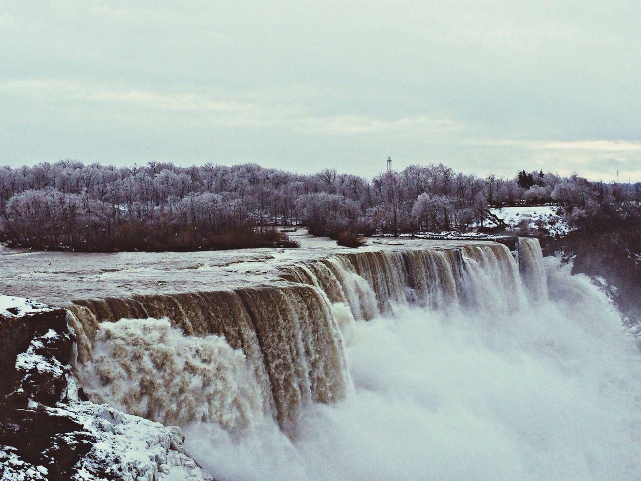 Beautiful stock photos of niagara falls, Cold Temperature, Day, Frozen, Landscape