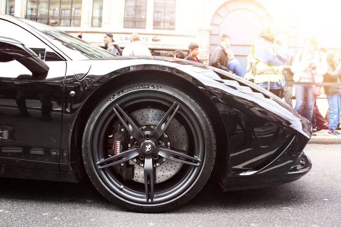 Blacked out 458 Speciale Ferrari Ferrari World Ferrari458  Ferrari 458 Ferrari 458 Speciale 458speciale Blackedout Wheel Wheels Supercar Cars SupercarsofLondon First Eyeem Photo Automotive Photography