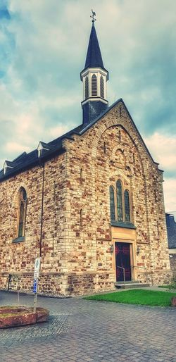 Church Religion Architecture History Place Of Worship Spirituality Built Structure Building Exterior Cloud - Sky Travel Destinations Outdoors Sky No People Day
