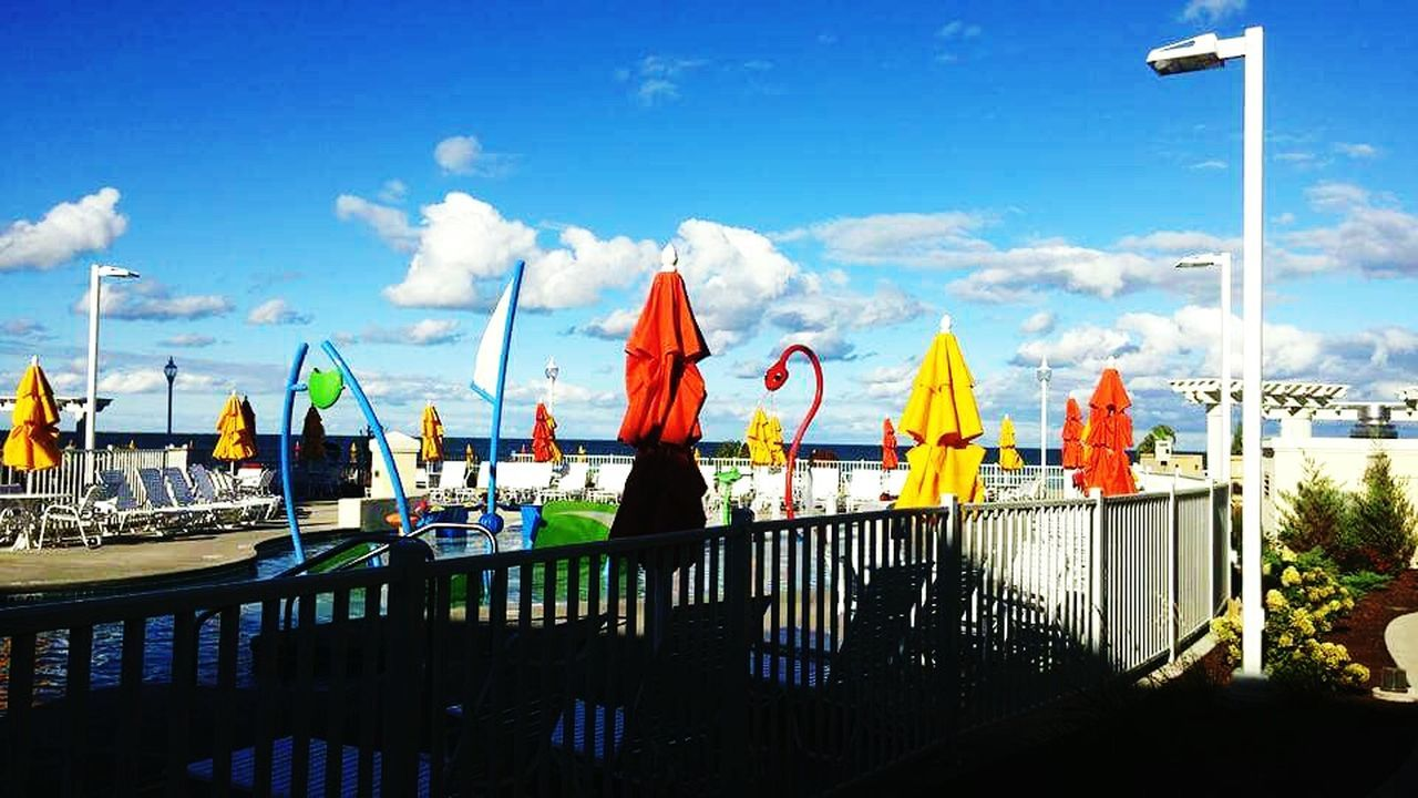 Throwback CedarPoint Trip Ohio Hotelbreakers View Relaxing Enjoying The Colours PhonePhotography