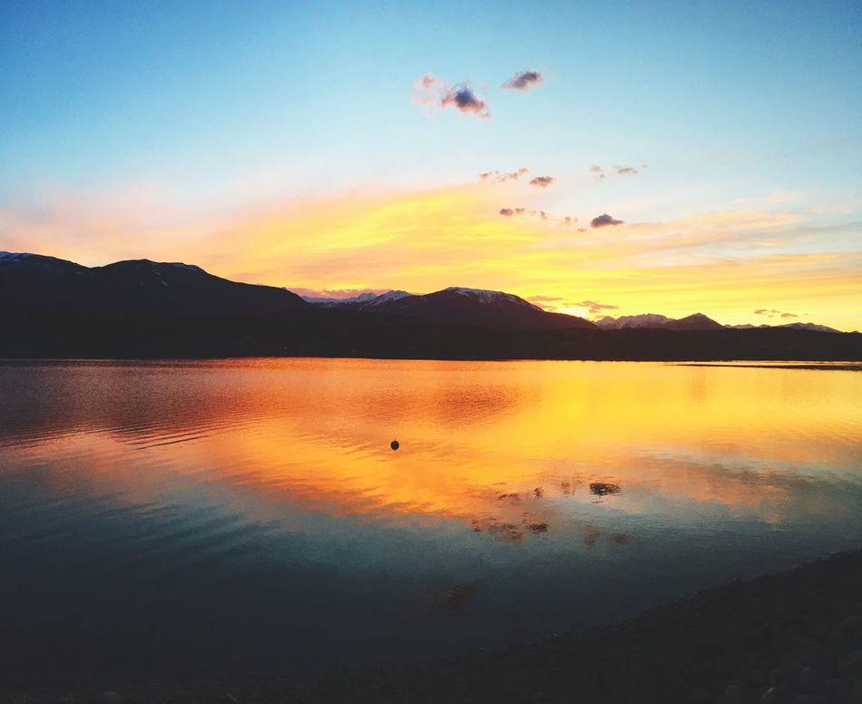 Lake Sunset!! Relaxing Calmwaters Calmlife Photolight Enjoying Life First Eyeem Photo