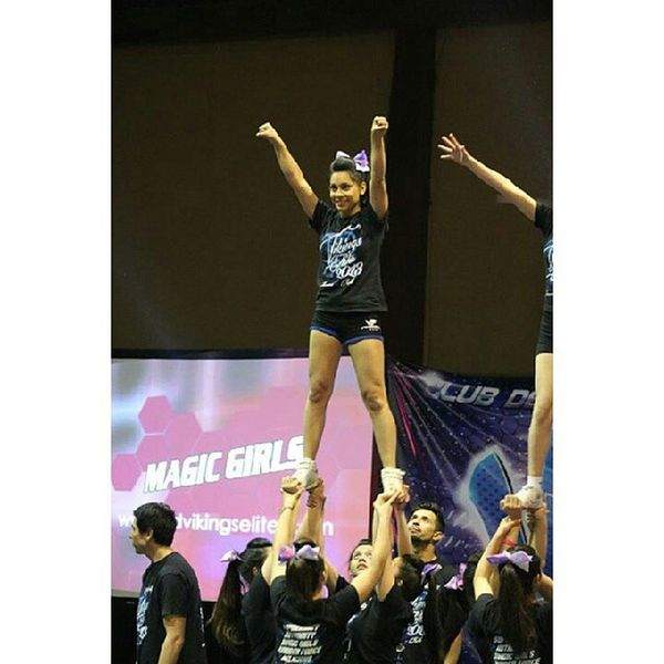 CUARTETO HERMOSO <3 Vikingselite Magicgirls Cheerleading