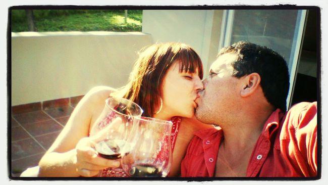 Couple Vino Love