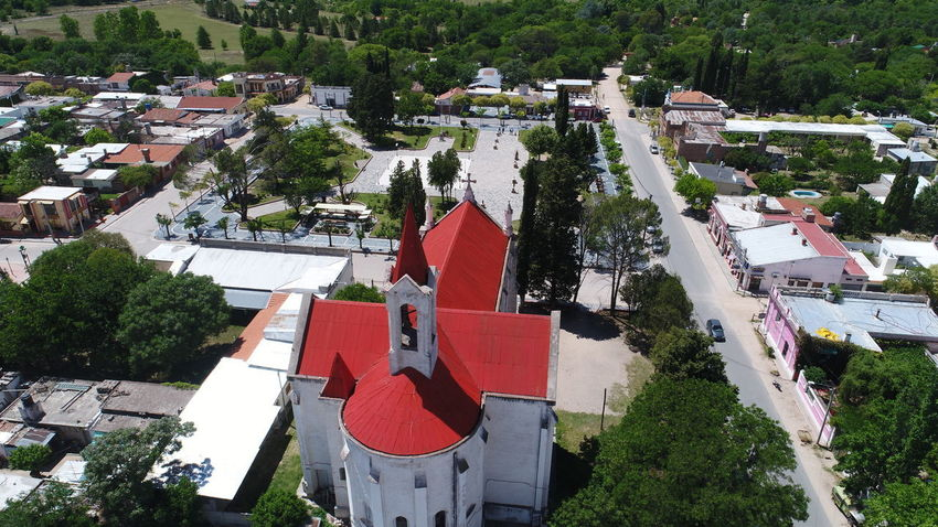 Aerial Shot Campo Ciudad Dramatic Sky Drone  Nono Rio Aerial View Churt Day Dronephotography Droneshot Iglesia Mina Clavero No People Outdoors Plaza Central