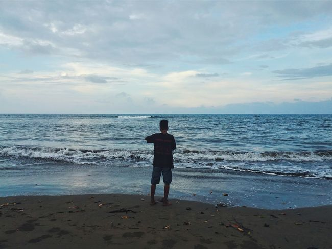 "Telling Stories Differently ""fishing?"" Wonderful Indonesia Landscape Enjoying Life Showcase April Hometown People Around You"