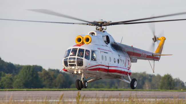 Air Force Airbase Aviation Helicopter MI8 Military Photography Poland Tactical Transport Vip